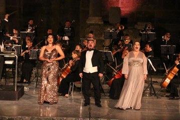 """28. Uluslararası Aspendos Opera ve Bale Festivali kapanışını """"Gala Konser"""" ile yaptı"""