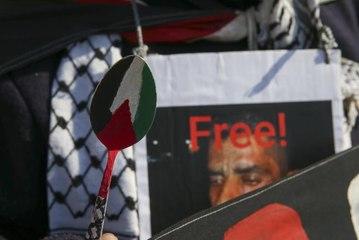 BUENOS AIRES - Arjantin'de Filistinli tutuklularla dayanışma, İsrail'i protesto gösterisi düzenlendi
