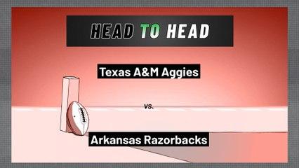 Arkansas Razorbacks - Texas A&M Aggies - Over/Under