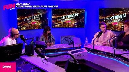 Cartman sur Fun Radio - L'intégrale du jeudi 23 septembre