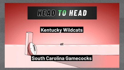 South Carolina Gamecocks - Kentucky Wildcats - Over/Under