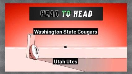 Utah Utes - Washington State Cougars - Over/Under