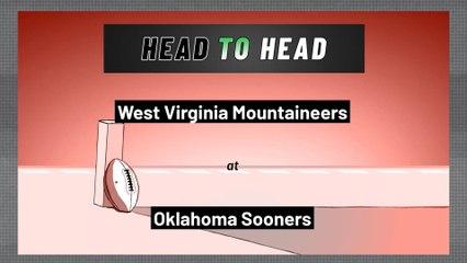 Oklahoma Sooners - West Virginia Mountaineers - Over/Under