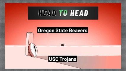 USC Trojans - Oregon State Beavers - Over/Under