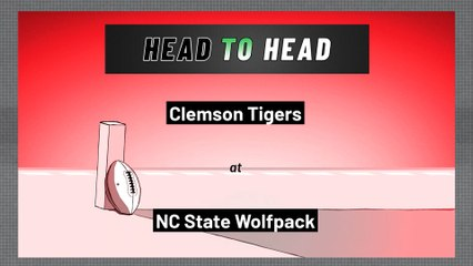 NC State Wolfpack - Clemson Tigers - Over/Under
