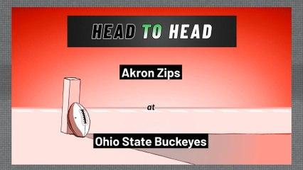 Ohio State Buckeyes - Akron Zips - Over/Under
