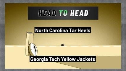 Georgia Tech Yellow Jackets - North Carolina Tar Heels - Over/Under