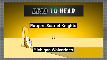Michigan Wolverines - Rutgers Scarlet Knights - Over/Under