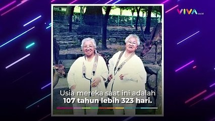 Sosok Kembar Identik Tertua di Dunia, Umurnya Ratusan Tahun!