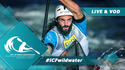 2021 ICF Canoe Kayak Slalom & Wildwater World Championships Bratislava Slovakia / Wildwater Heats AM