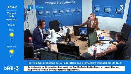 24/09/2021 - Le 6/9 de France Bleu Gironde en vidéo