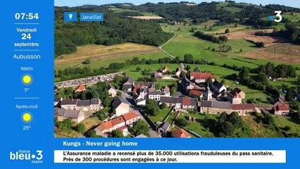 24/09/2021 - Le 6/9 de France Bleu Creuse en vidéo