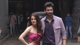 Radhika Madan, Sunny Kaushal At Dance Deewane 3 Set, Filmistan Studios, Goregaon