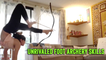 'Mongolian Contortionist demonstrates her unrivaled foot archery skills'