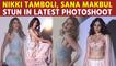 Nikki Tamboli, Sana Makbul stun in latest photoshoot