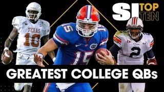 SI Top Ten: All-Time College Quarterbacks