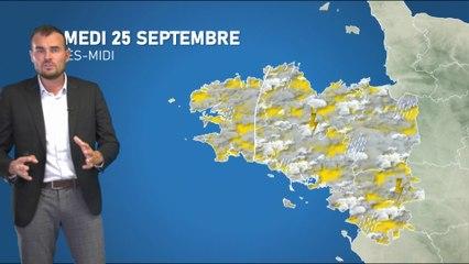Illustration de l'actualité La météo de votre samedi 25 septembre 2021