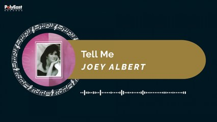 Joey Albert - Tell Me (Official Music Visualizer)