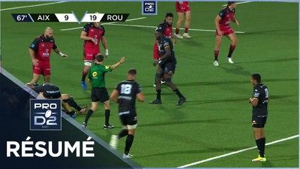 PRO D2 - Résumé Provence Rugby-Rouen Normandie Rugby: 21-22 - J05 - Saison 2021/2022