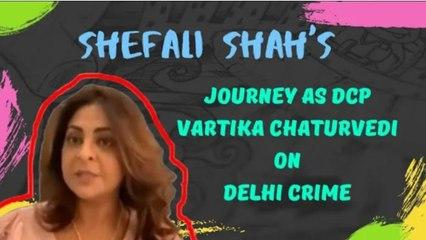 MY BREAKOUT ROLE: Shefali Shah's Journey As DCP Vartika Chaturvedi On Delhi Crime | SpotboyE