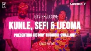 Kunle Afolayan, Sefi Atta and Ijeoma Grace Agu : Presenting history through 'Swallow'