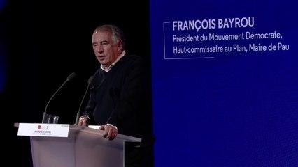 François Bayrou, discours de clôture - UR2021