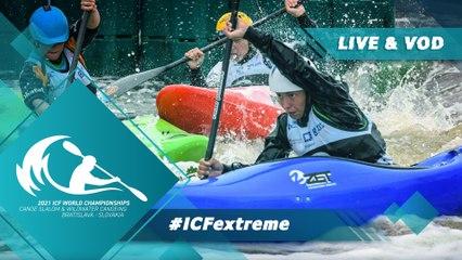2021 ICF Canoe Kayak Slalom & Wildwater World Championships Bratislava Slovakia / Extreme Finals