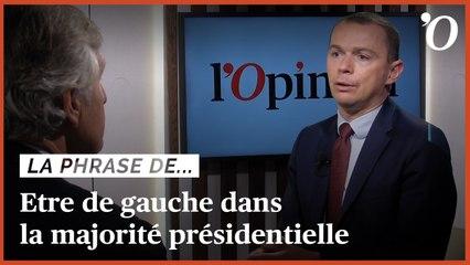 Olivier Dussopt: «J'ai deux identités, la gauche et la majorité présidentielle»