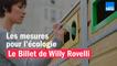 Les mesures pour l'écologie - Le billet de Willy Rovelli