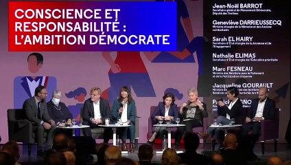 Conscience et responsabilité, l'ambition démocrate - UR2021