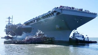 The true cost of the most advanced aircraft carrier