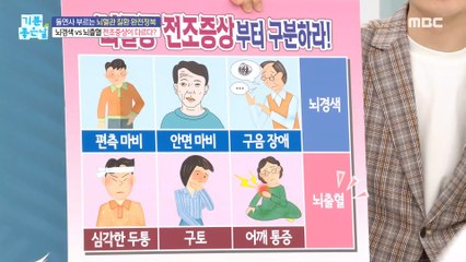 "[HEALTHY] ""Stroke"" that is divided into precursor symptoms.k.a, 기분 좋은 날 210928"