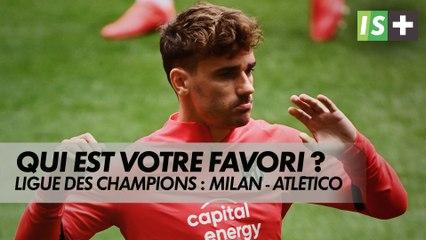 L'Atlético de Griezmann favori contre le Milan AC ?