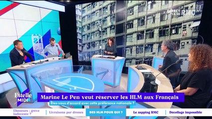 Marine Le Pen veut réserver les HLM aux Français - 28/09