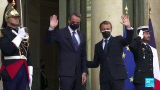 Partenariat France - Grèce : pour Emmanuel Macron, l'Europe doit