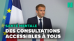 Macron promet le remboursement des consultations chez le psychologue dès 2022