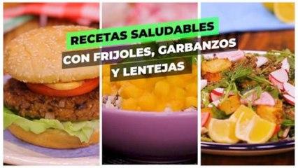 Recetas saludables con frijoles, garbanzo y lentejas.| Cocina Delirante
