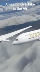 Beautiful Airplane over take by Emirates flights 2021 Full video.