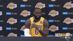 Lakers Media Day: LeBron James Press Conference | Brought to You by Bibigo