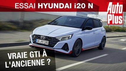 Hyundai i20 N : une vraie GTI à l'ancienne !