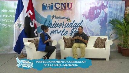 Programa para la Paz - Perfeccionamiento curricular de la UNAN - Managua