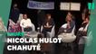 Nicolas Hulot pris à partie par un groupe de féministes lors d'une conférence à Tours