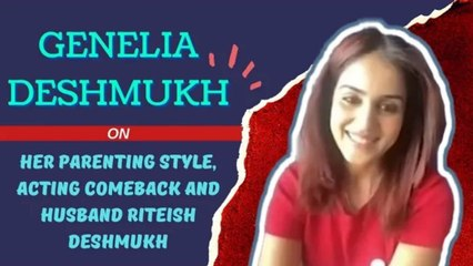 #GeneliaDeshmukh On Her Parenting Style, Acting Comeback & Husband Riteish Deshmukh | SpotboyE