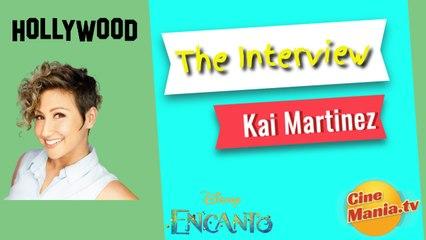 Encanto Kai Martinez asesora de animación y danza (Captioned)
