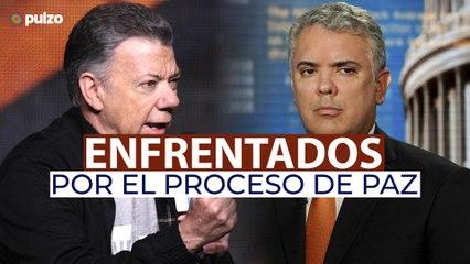 Iván Duque responde a críticas de Juan Manuel Santos   Pulzo