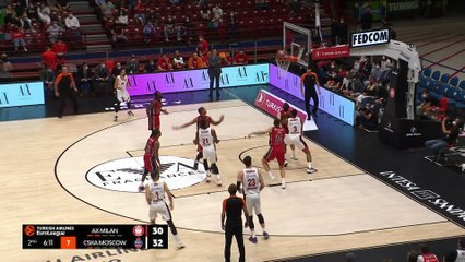 Milan wins the battle of giants! | Round 1, Highlights | Turkish Airlines EuroLeague