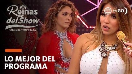 Reinas del Show 2: Gabriela Herrera habló de su caída mientras bailaba y pidió revancha (HOY)