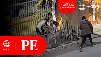 Mujer se enfrentó a ladrón tras intentar evitar robo   Primera Edición