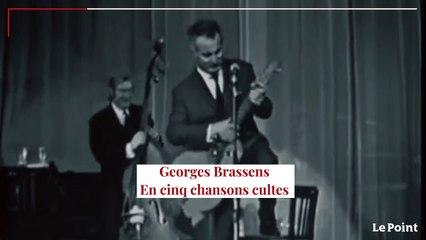 Georges Brassens en cinq chansons cultes