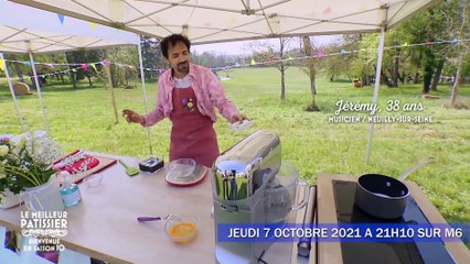Le meilleur pâtissier 2021 : Jérémy, un musicien prêt pour la victoire ?
